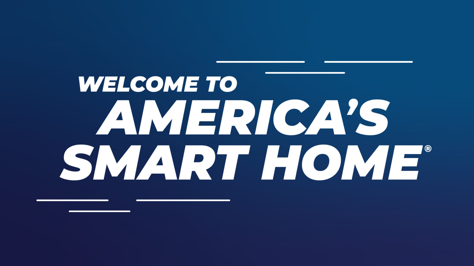 Welcome to America's Smart Home