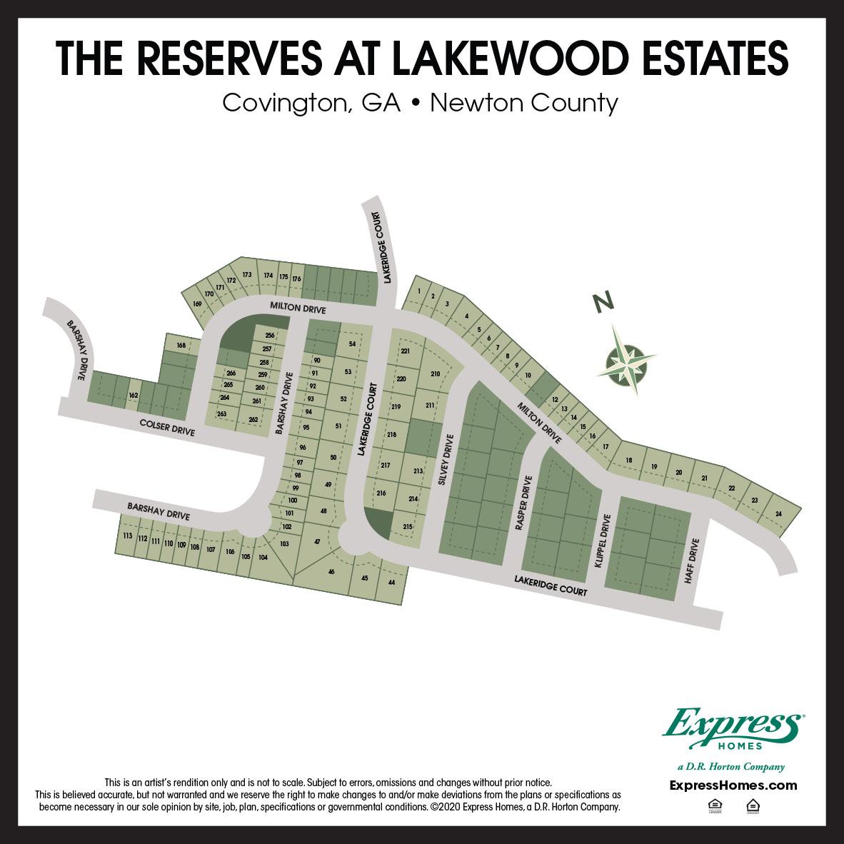 New Homes In The Reserves At Lakewood Estates Covington Ga D R Horton
