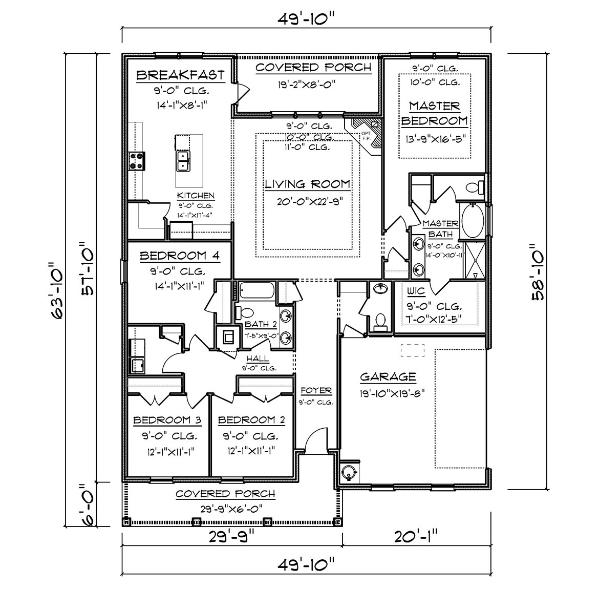The Victoria - New Home Floor Plan