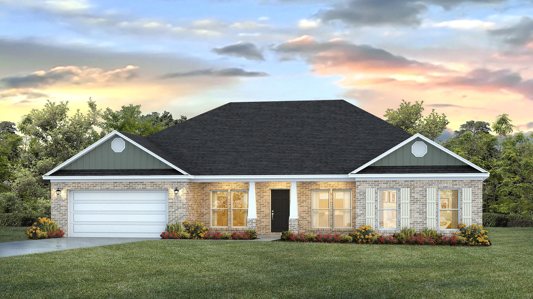 New Homes In Magnolia Springs Semmes Al D R Horton