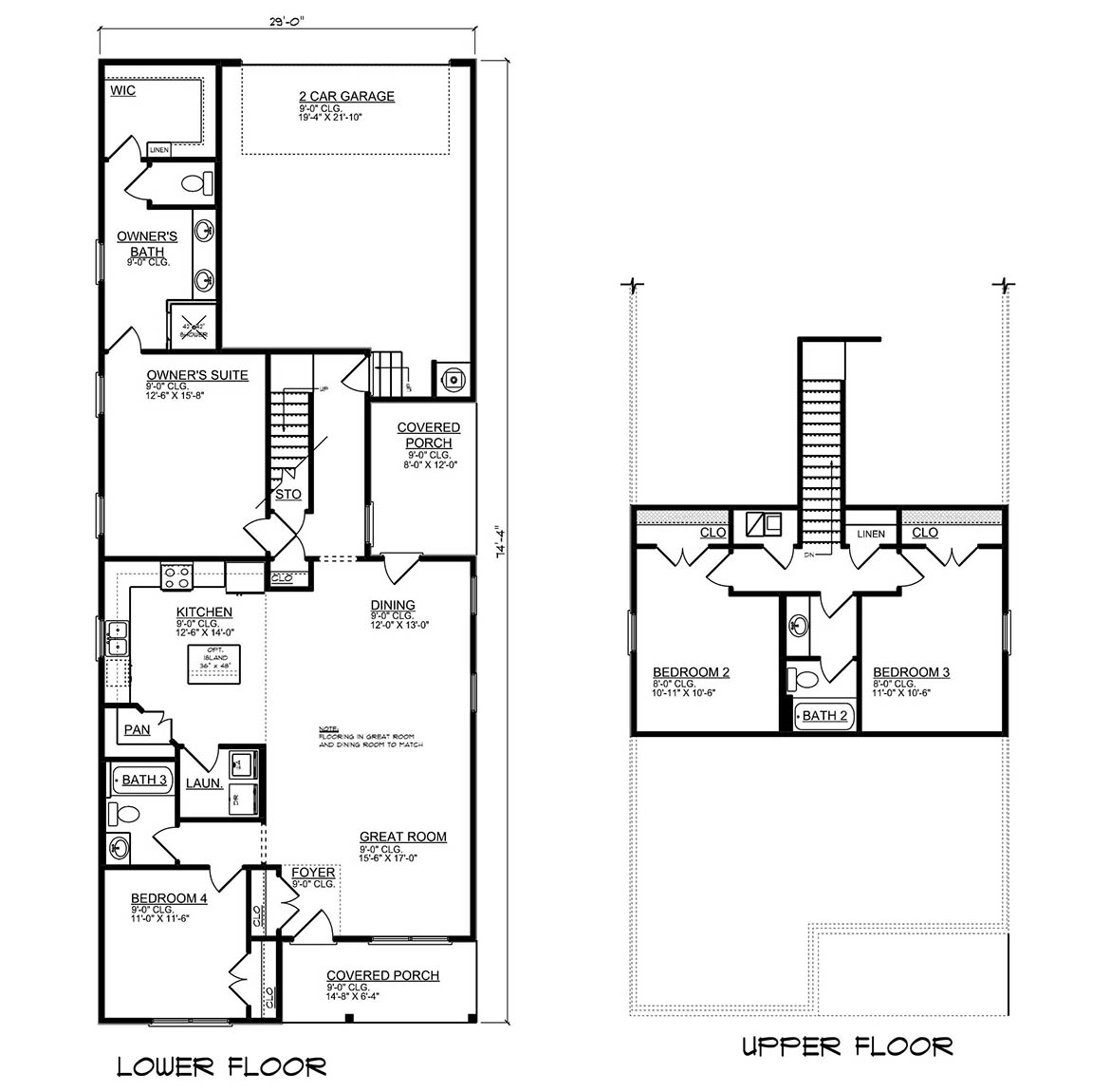 The Cary - New Home Floor Plan