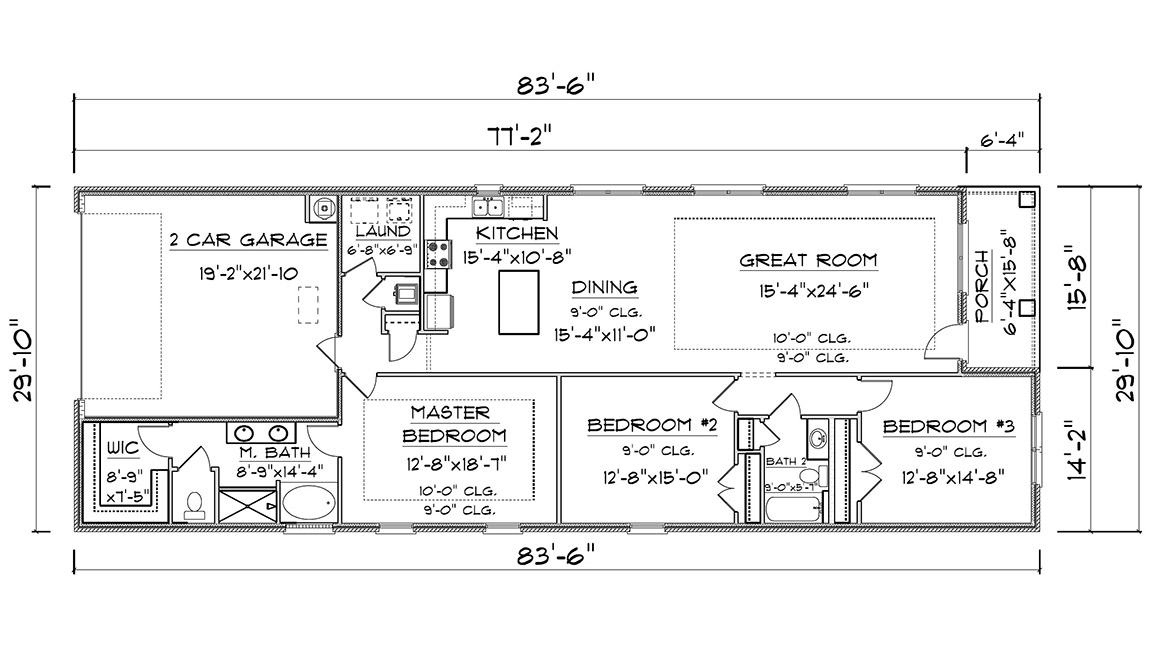 The Macon - Floor Plans