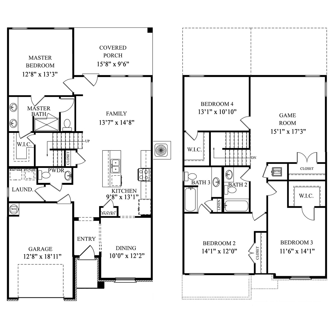 The Alabaster - New Home Floor Plan