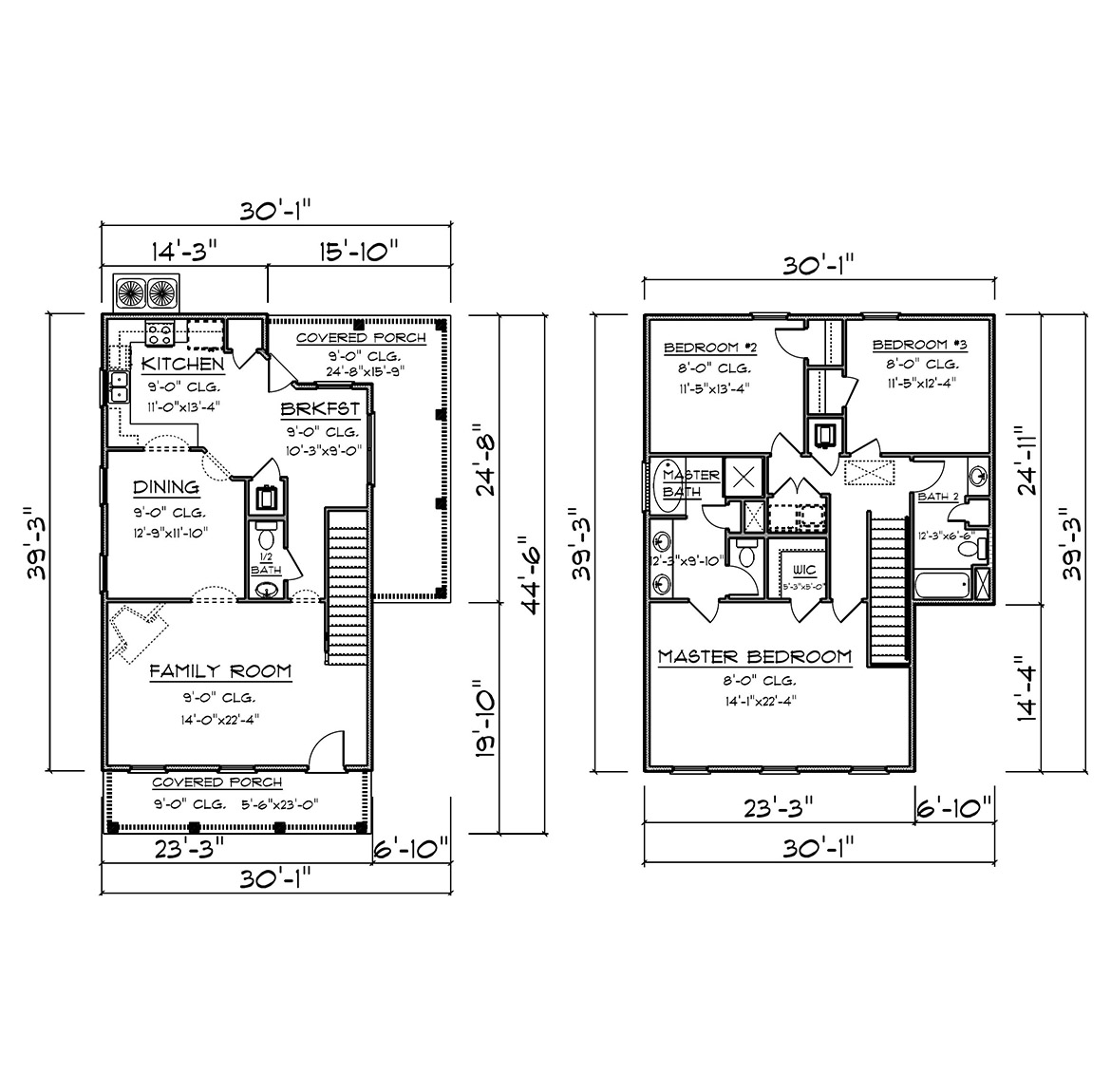 The Ole Southside - New Home Floor Plan
