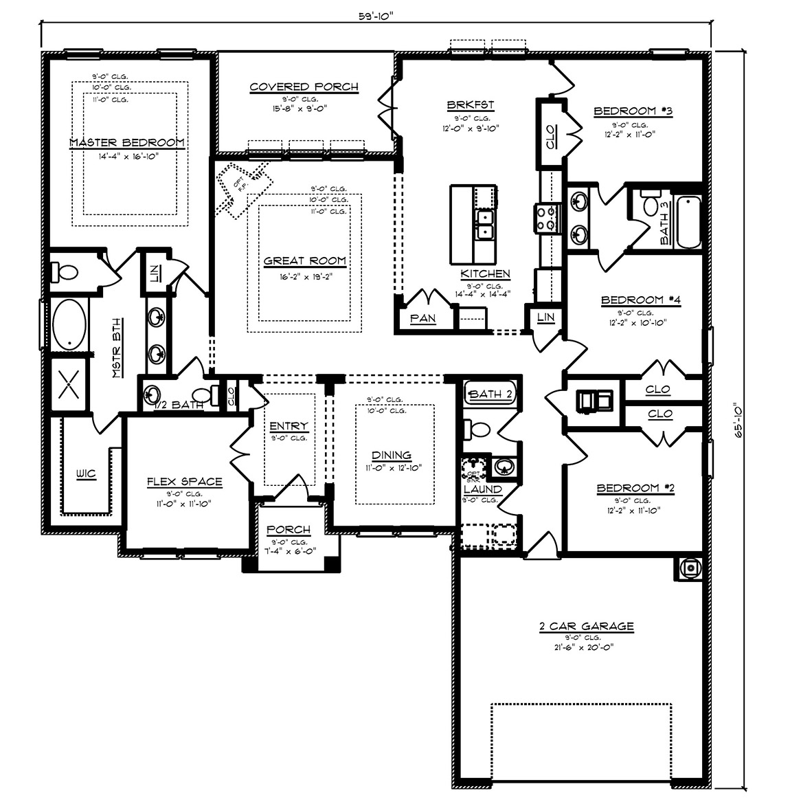The Avery - New Home Floor Plans
