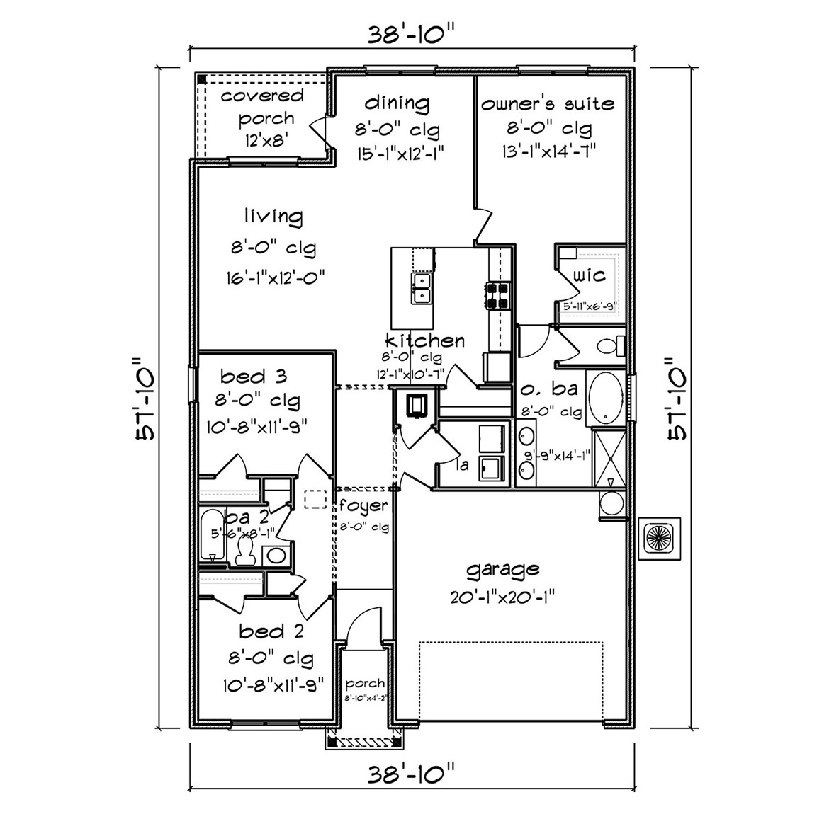 The Aria - New Home Floor Plan