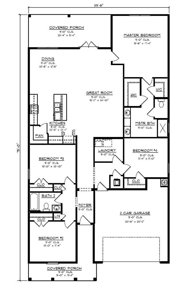 New Homes In Bridge Harbor Callaway Fl D R Horton