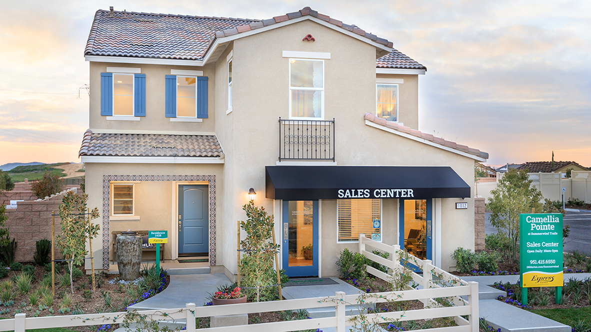 New Homes In Camellia Pointe At Summerwind Trails Calimesa
