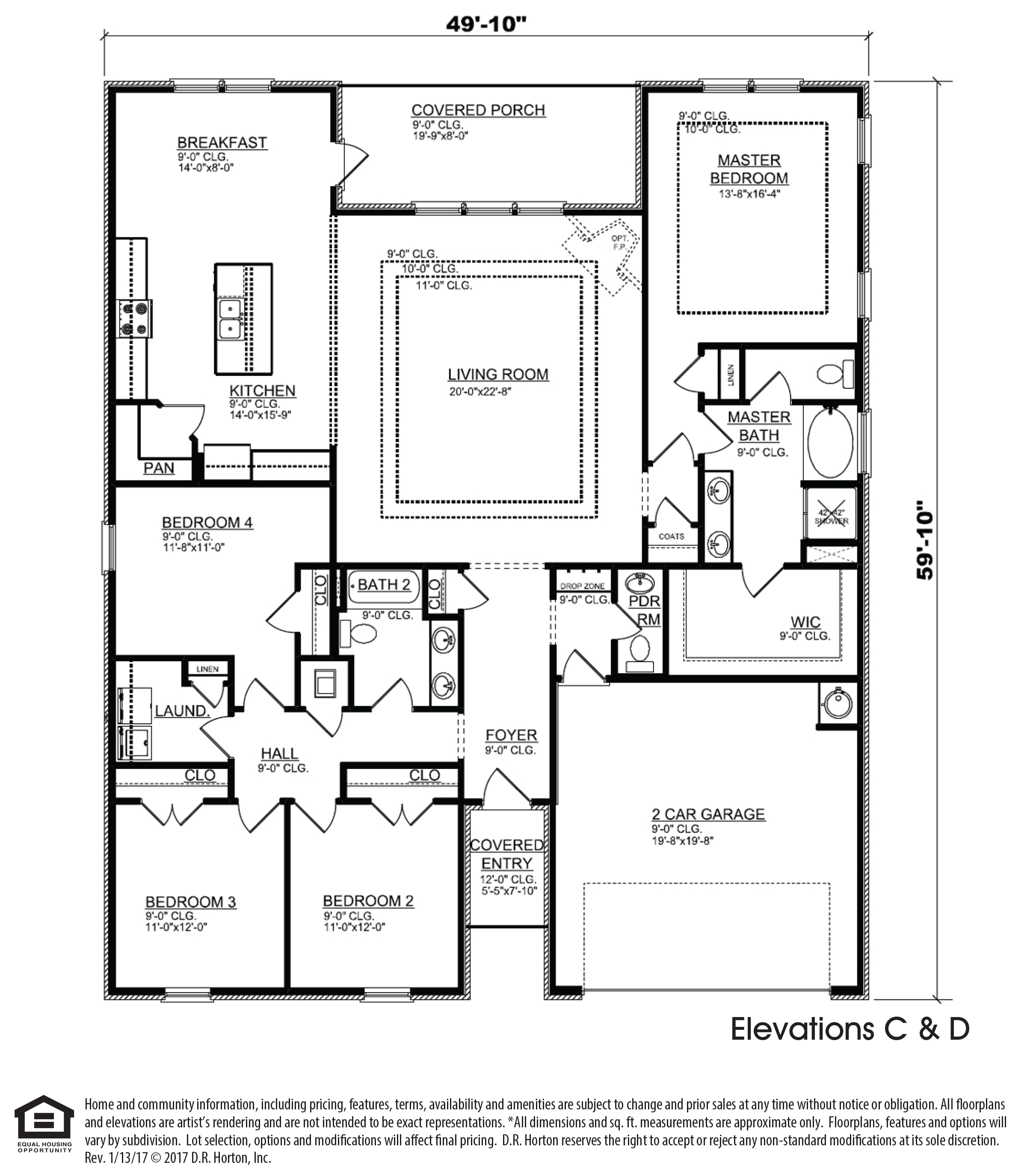 The Victoria new home floor plan