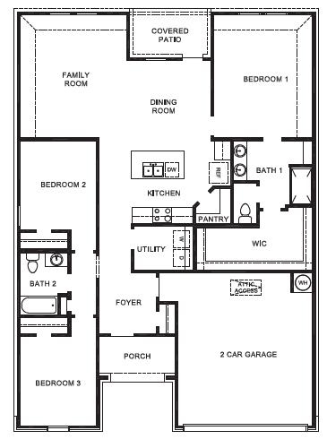 New Homes In Brookstone Ridge Mustang Ok D R Horton