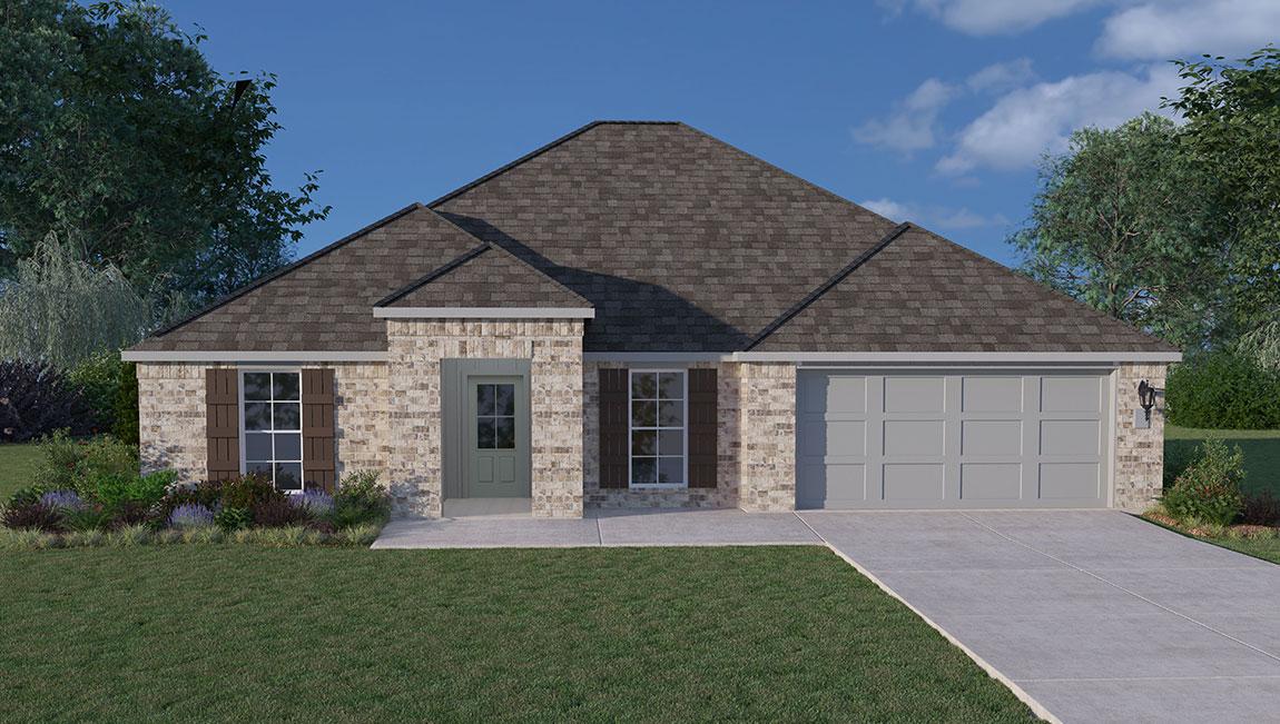 New Homes In Wisteria Vine Moss Bluff La D R Horton