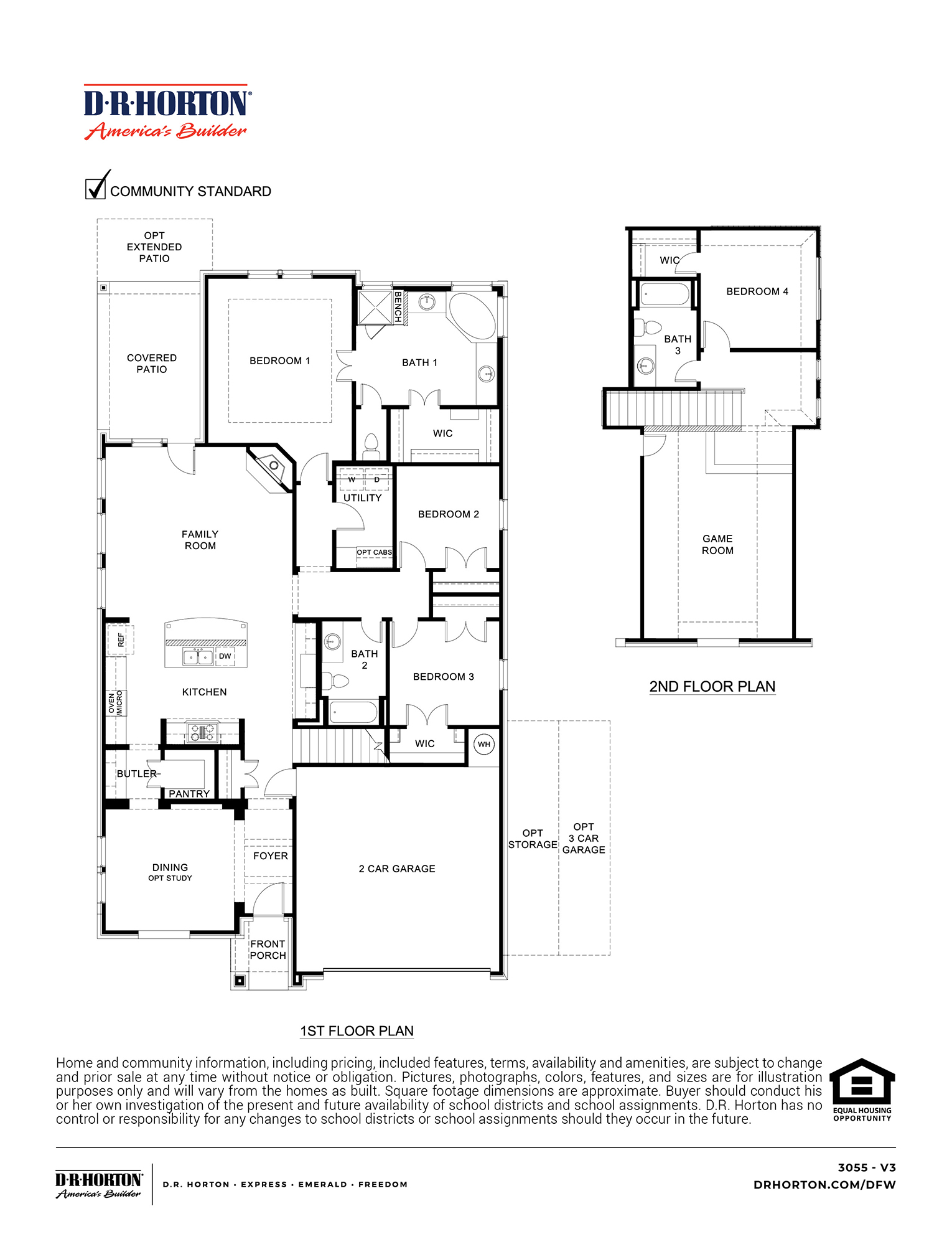 New Homes In Lakewood Trails Forney Tx D R Horton