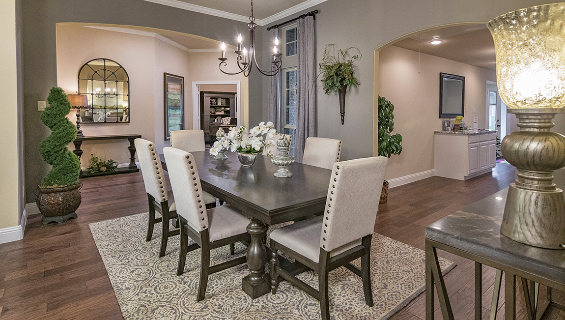 Fontanna Ranch Model Formal Dining