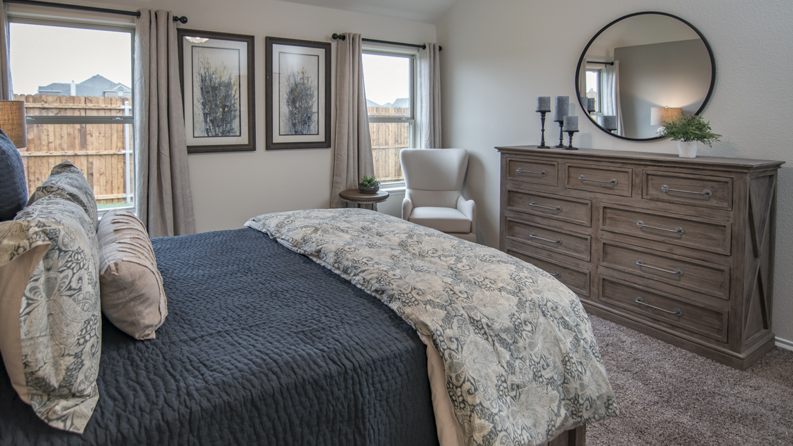 Garden Valley Model Master Bedroom