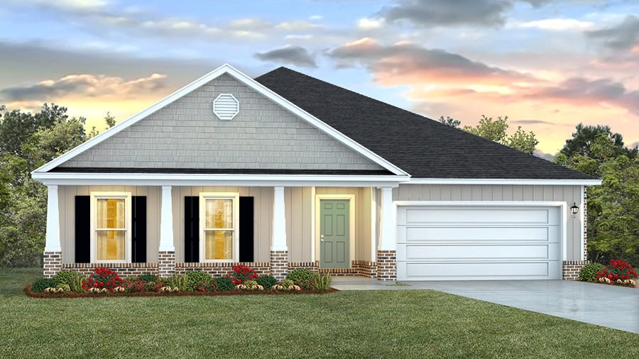 New Homes In Glen Eagle Biloxi Ms D R Horton