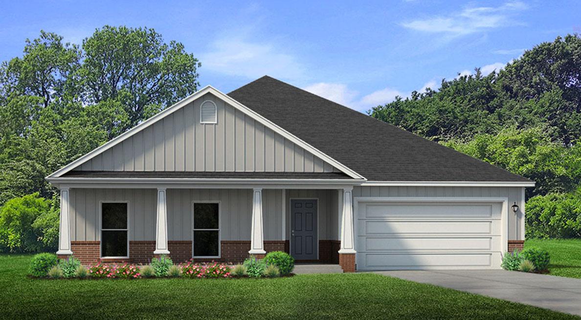 New Homes In Titus Park Panama City Fl D R Horton