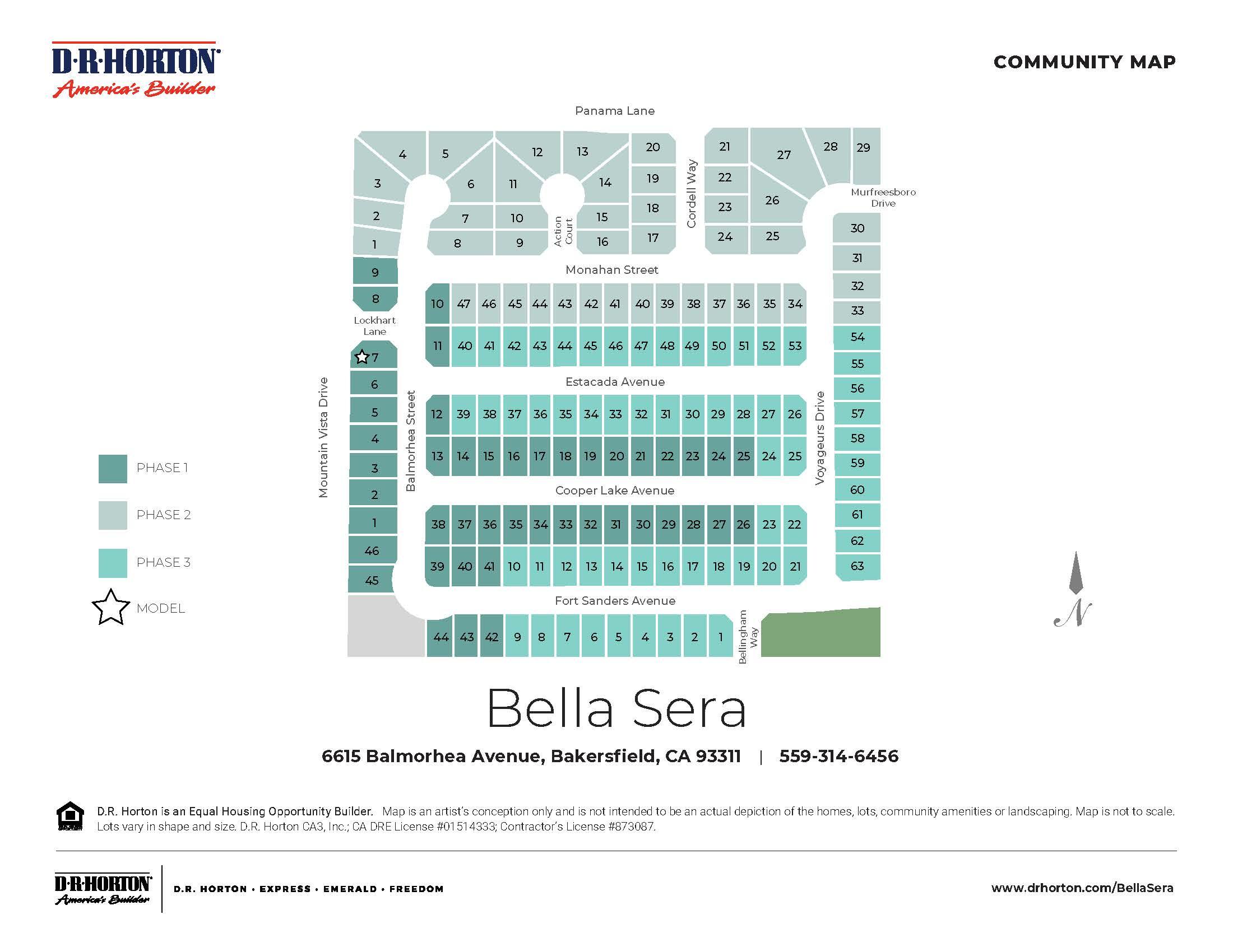 New Homes In Bella Sera Bakersfield Ca D R Horton
