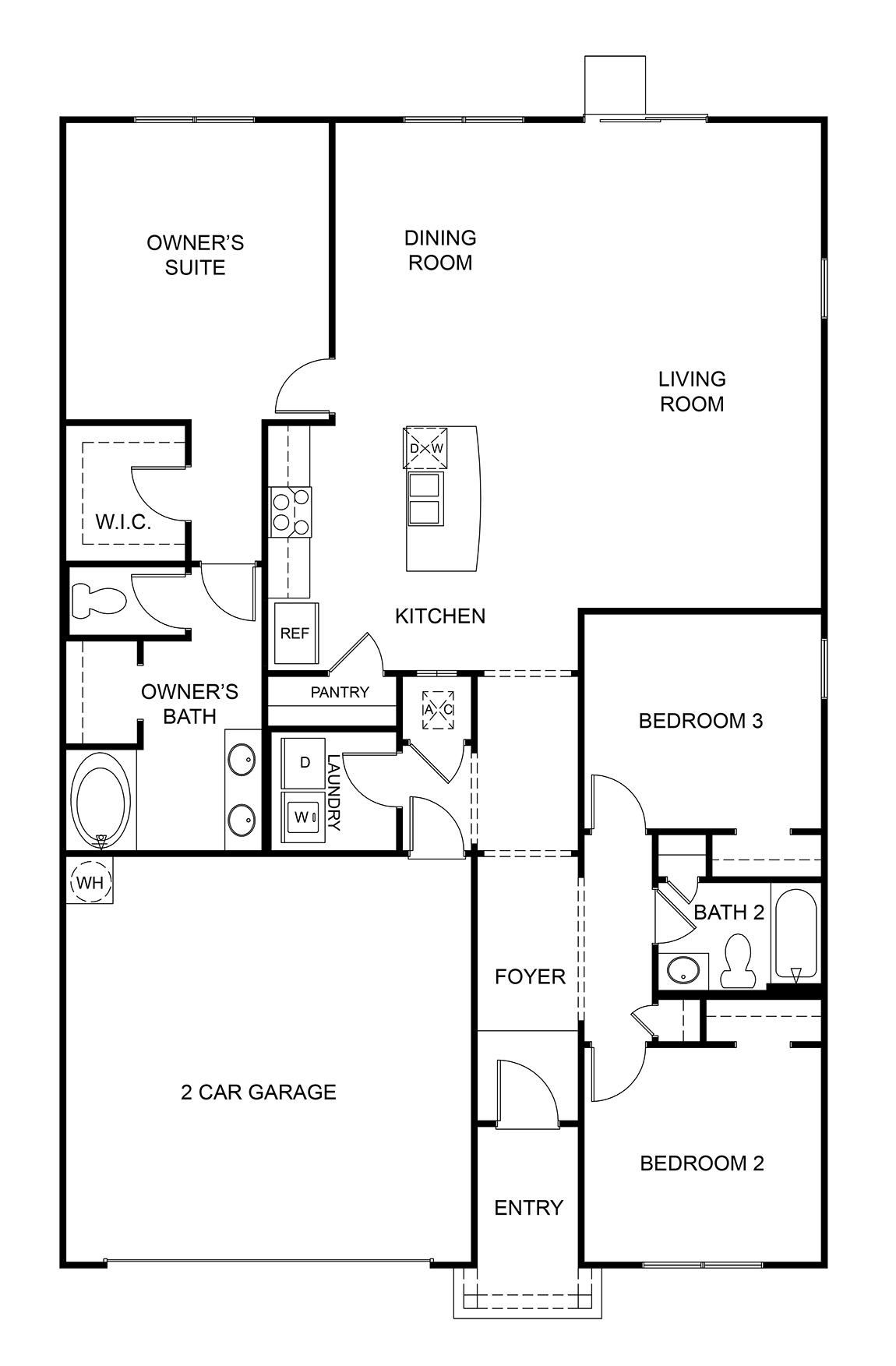 1714 Aria - Floor Plan