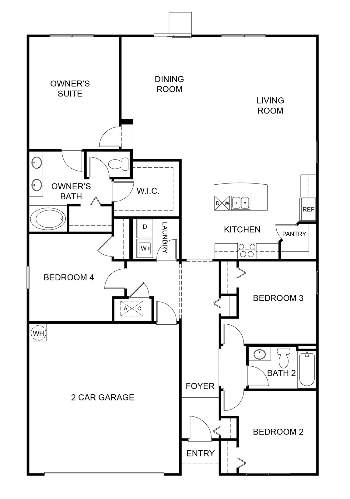1862 Cali - Floor Plan