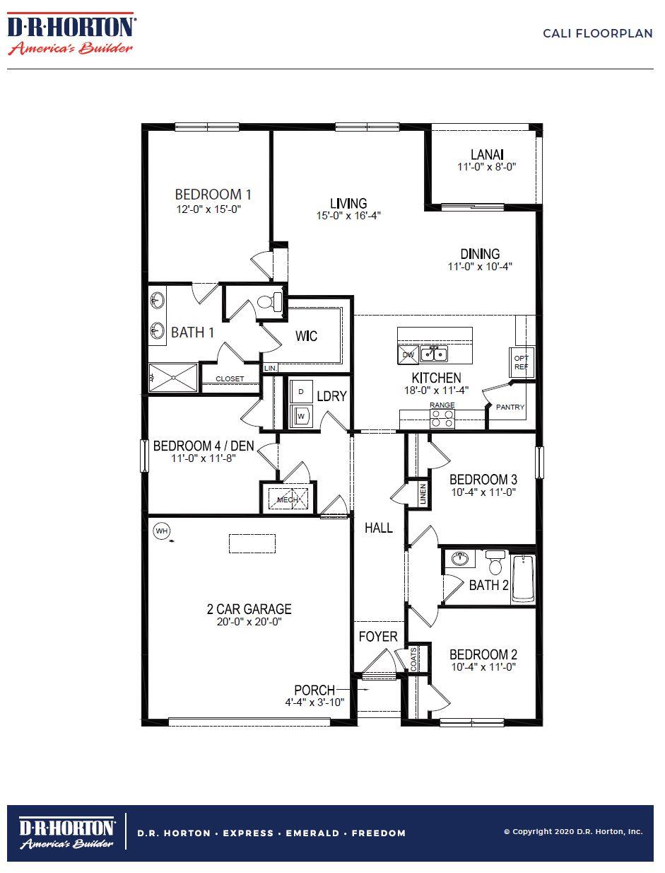 New Homes In Hle Springview Debary Fl D R Horton