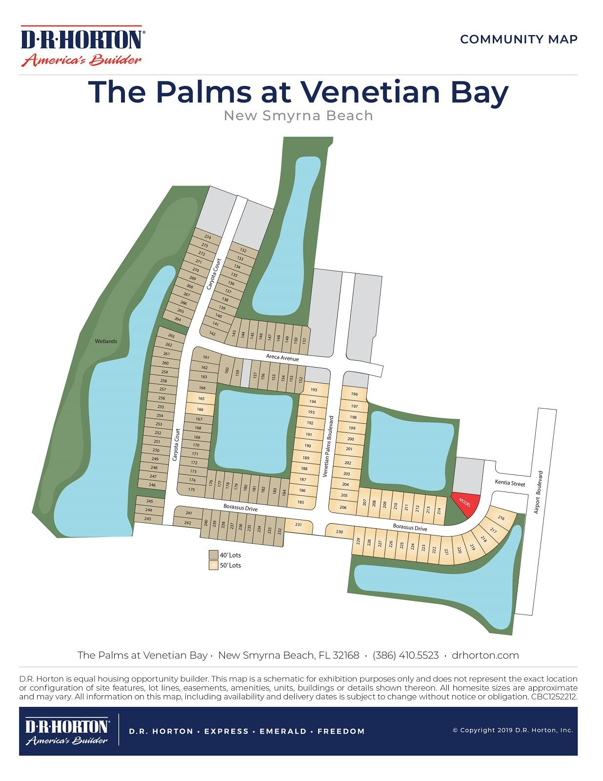 New Homes In The Palms At Venetian Bay New Smyrna Beach Fl D R Horton