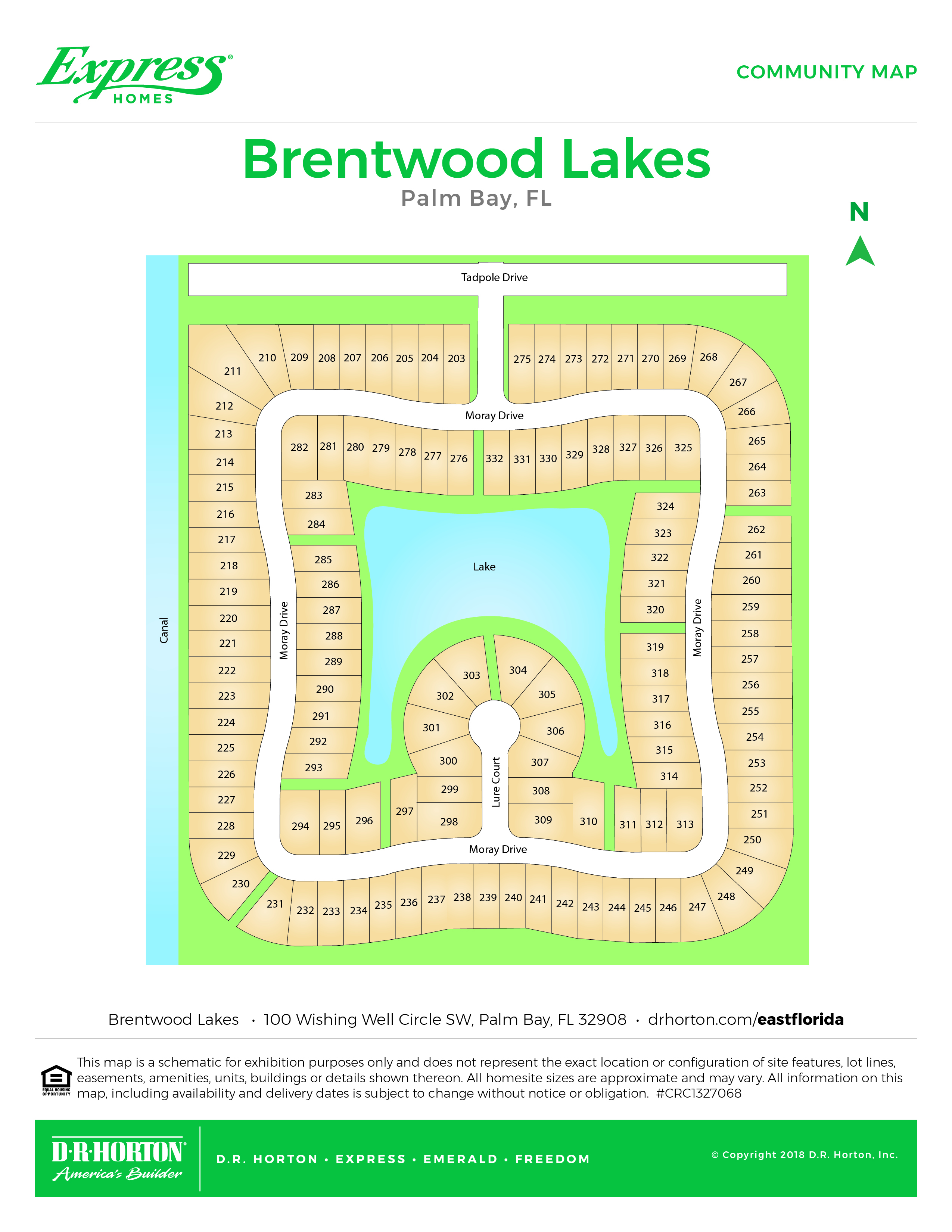 Palm Bay Florida Zip Code Map.New Homes In Brentwood Lakes Palm Bay Florida Express Homes