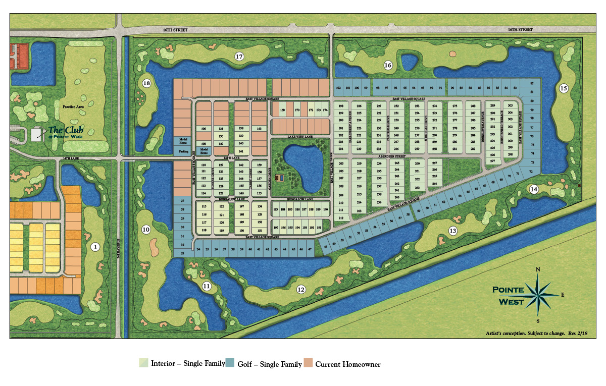 Map Of Florida Showing Vero Beach.New Homes In Pointe West Vero Beach Florida D R Horton