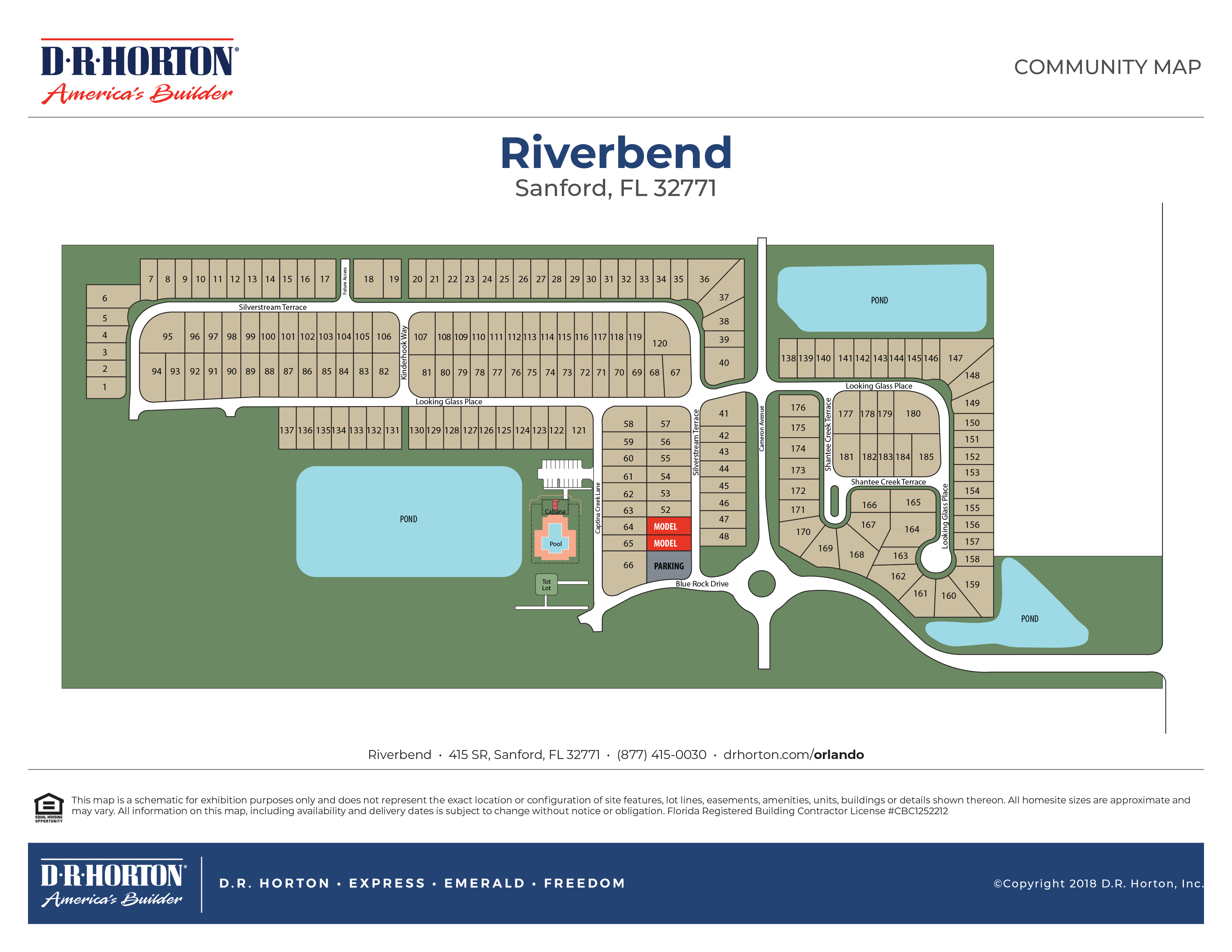 New Homes in Riverbend | Sanford, Florida | Express Homes