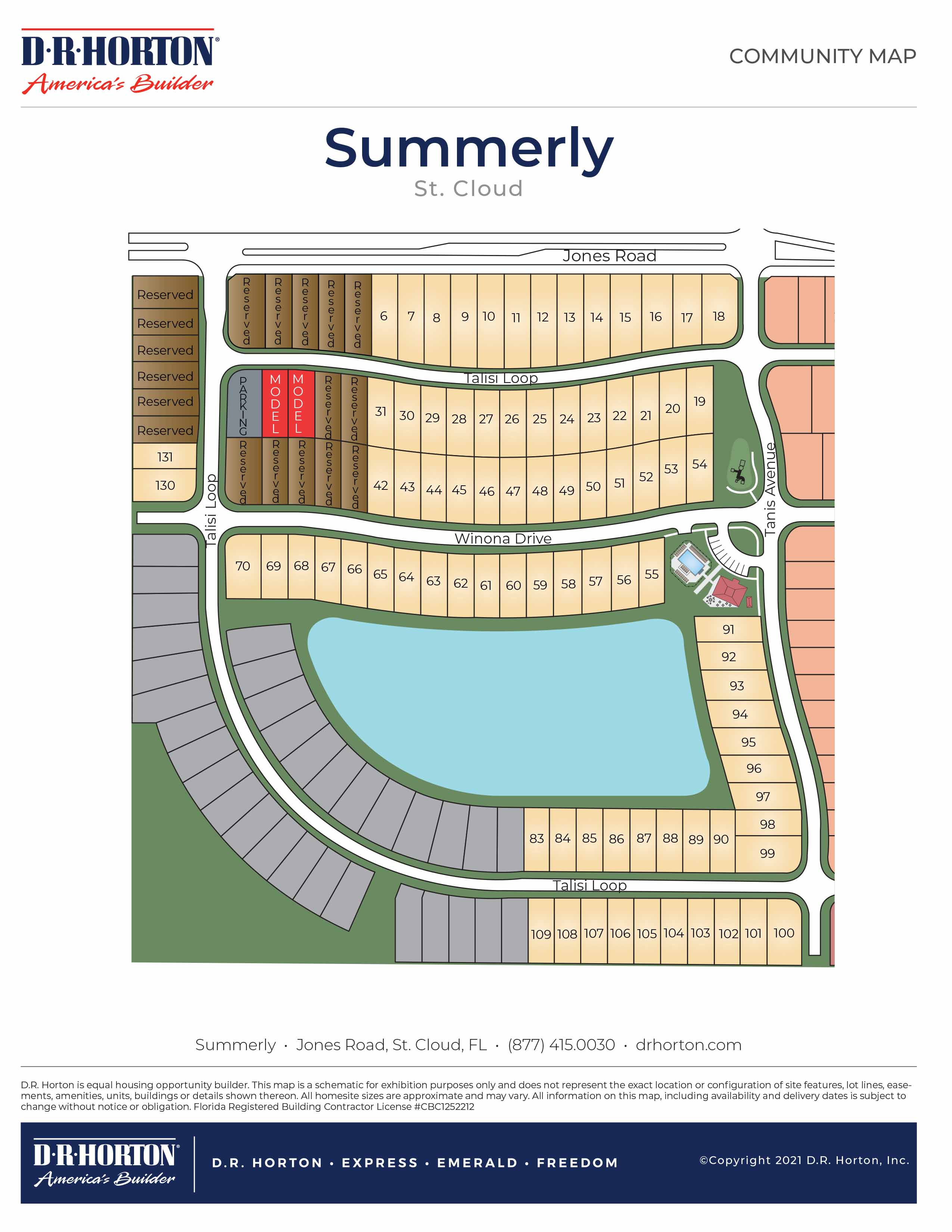 New Homes In Summerly St Cloud Fl D R Horton