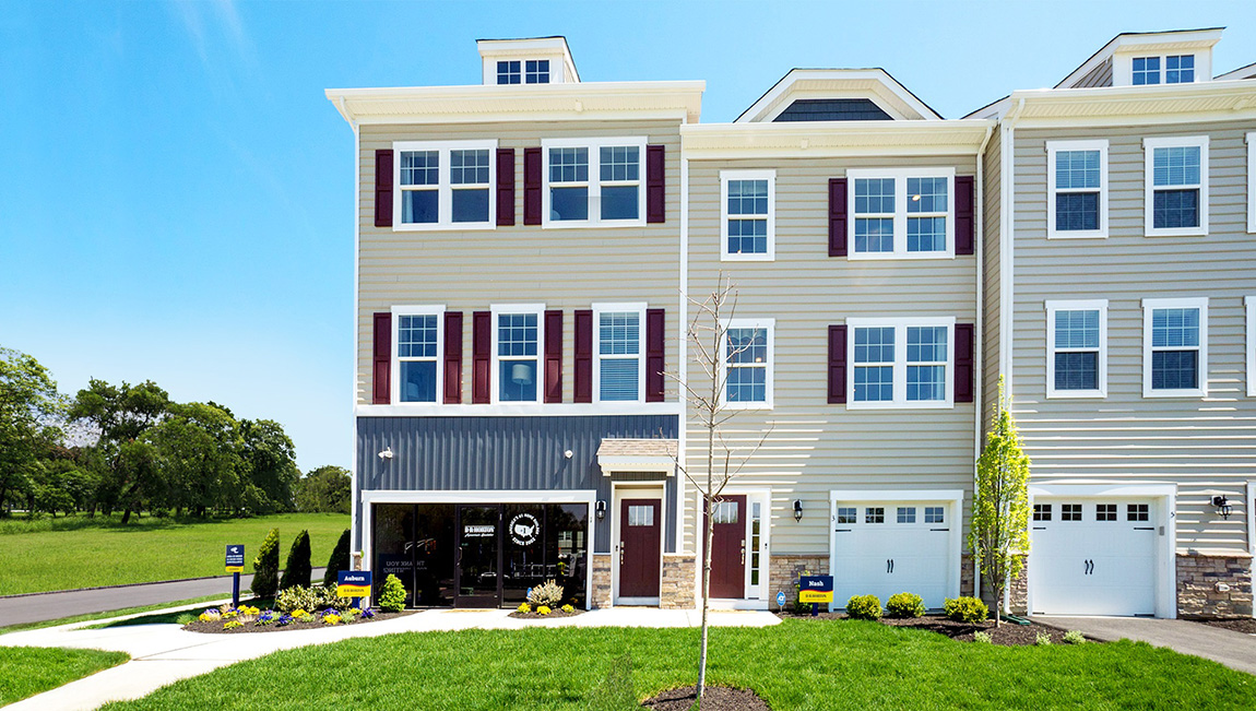 Awesome New Homes In Signature Place Mount Laurel New Jersey Interior Design Ideas Oxytryabchikinfo