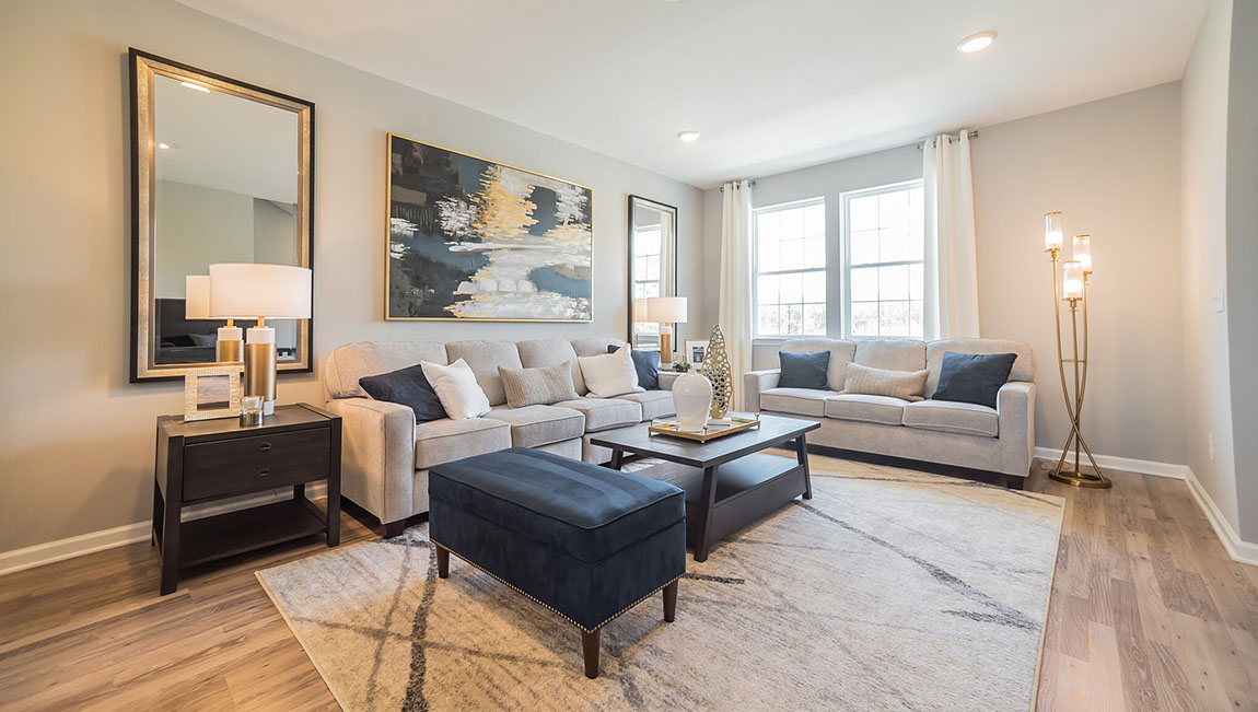 Magnificent New Homes In Signature Place Mount Laurel New Jersey Interior Design Ideas Oxytryabchikinfo