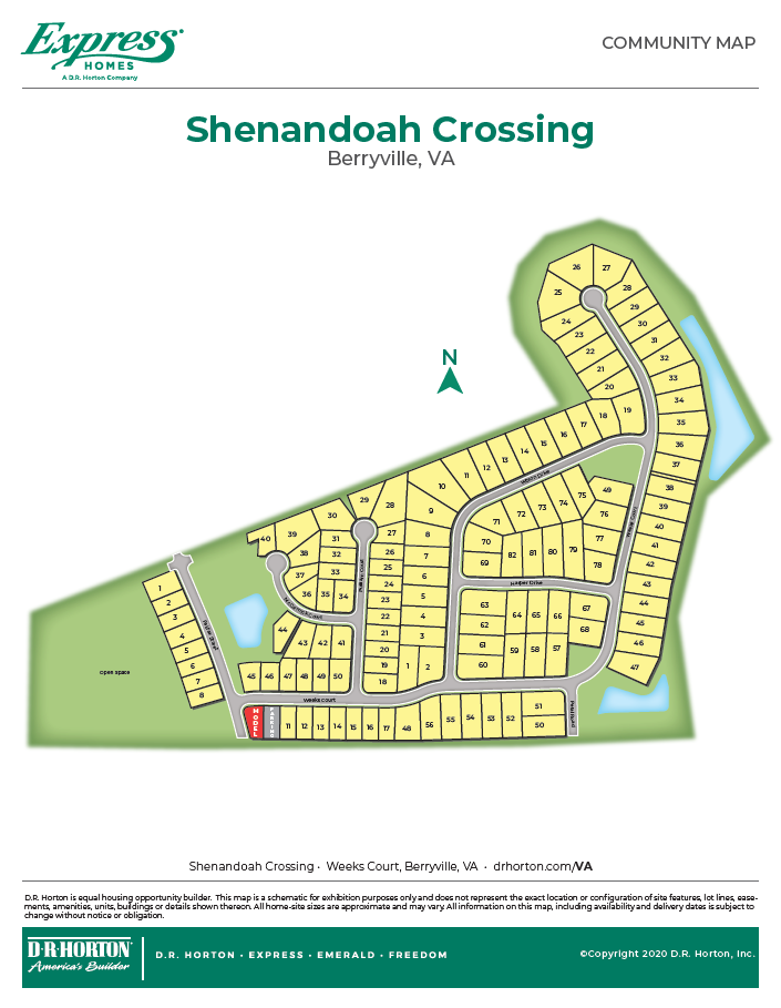 New Homes In Shenandoah Crossing Berryville Va D R Horton