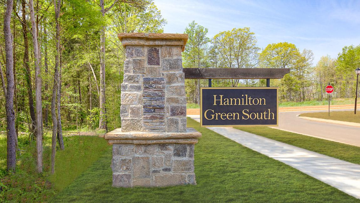 New Homes In Hamilton Green Charlotte Nc D R Horton