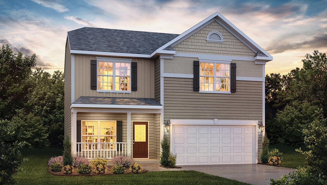 New Homes In Sequoia Forest Mooresville Nc D R Horton