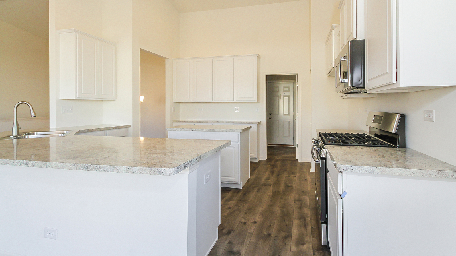 The Kitchen Of The Takoma A 2 045 Square Foot Ranch Home