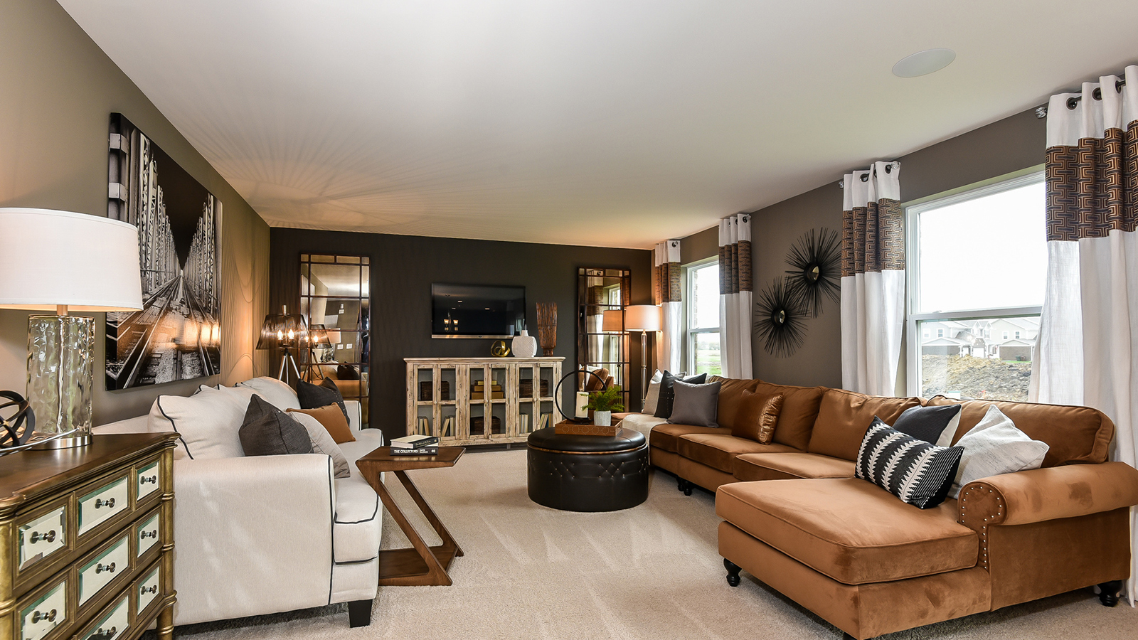 The Family Room Of The Glenmont A 2 630 Square Foot