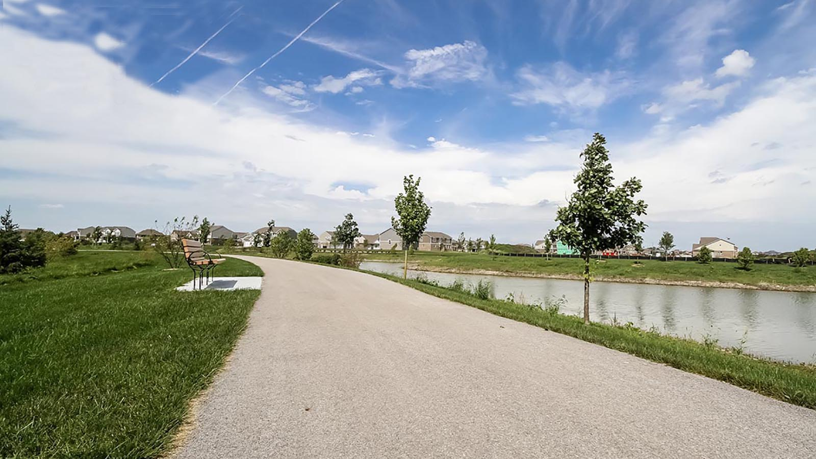 A Trail Near Bristol Park A New Home Community Offering