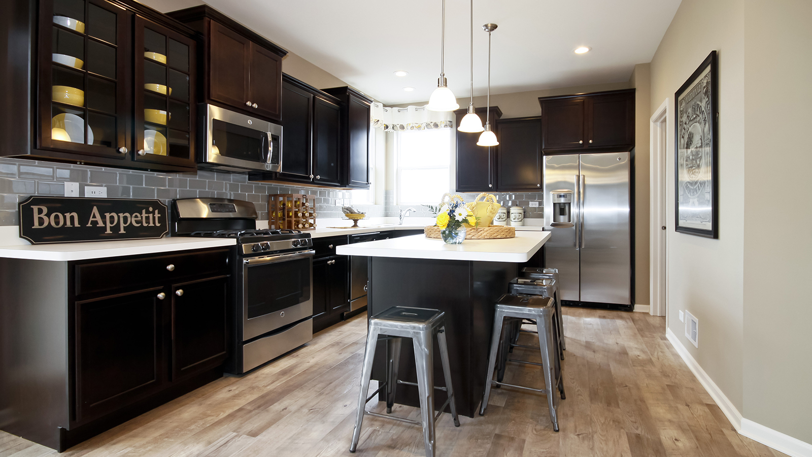 The Kitchen Of The Arlington A 2 995 Square Foot Single