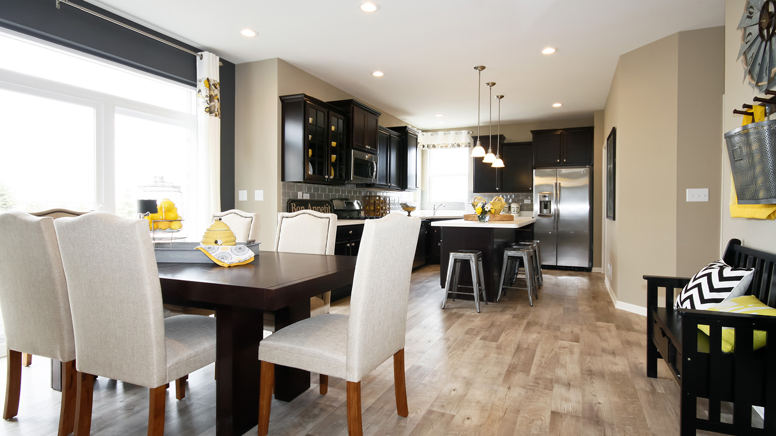 The Breakfast Area Of The Arlington A 2 995 Square Foot