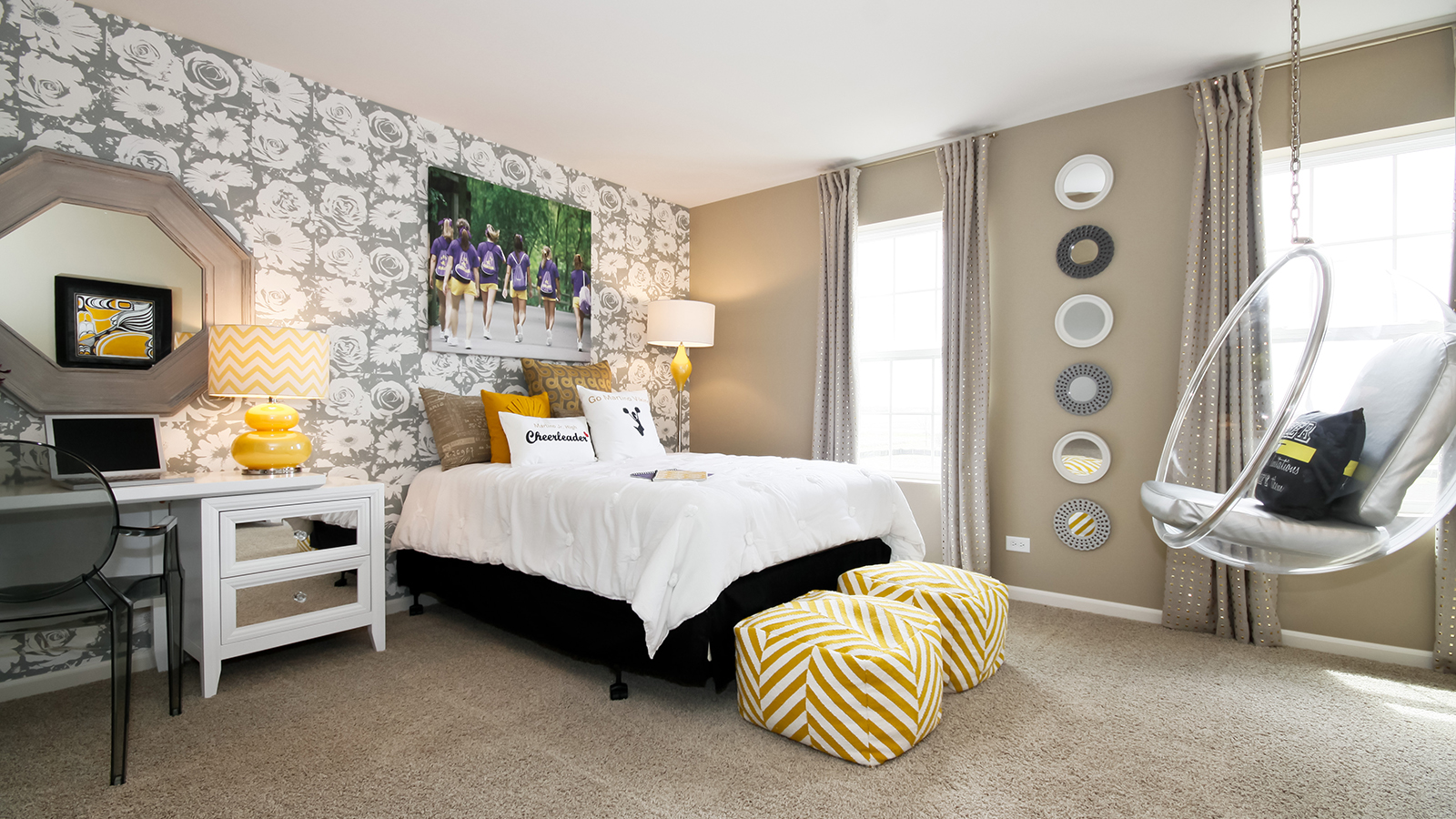 The Second Bedroom Of The Arlington A 2 995 Square Foot