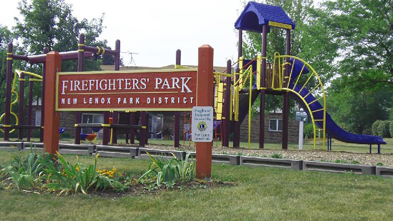 Firefighters Park Near Bristol Park A New Home Community
