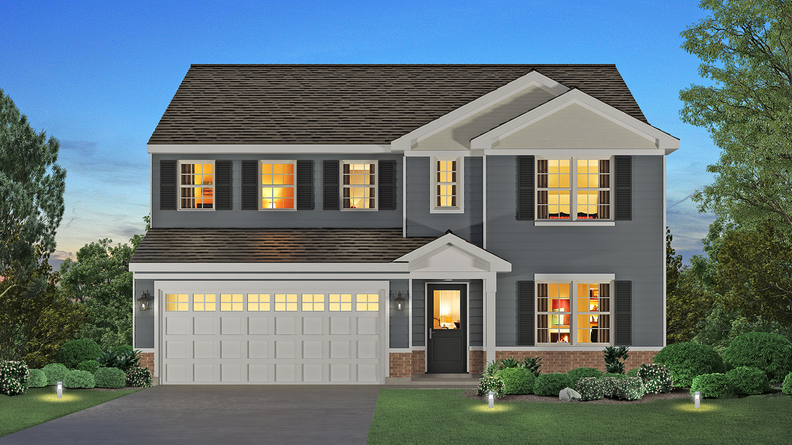 New Homes In Sanctuary At Bull Valley Single Family Homes Woodstock Il D R Horton