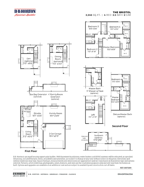 New Homes In Windbrooke Huber Heights Oh D R Horton
