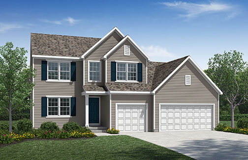New Homes In Blues Creek Ostrander Oh D R Horton