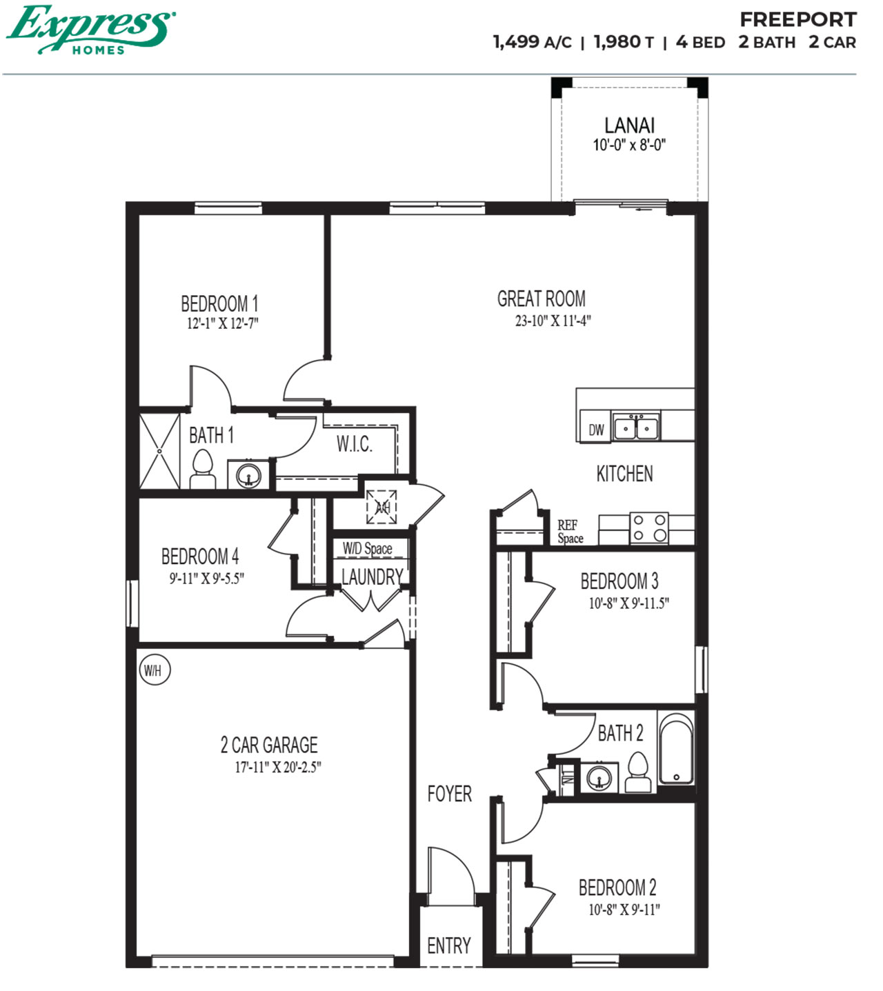 New Homes In Express River Club 1 Port Charlotte Fl Express