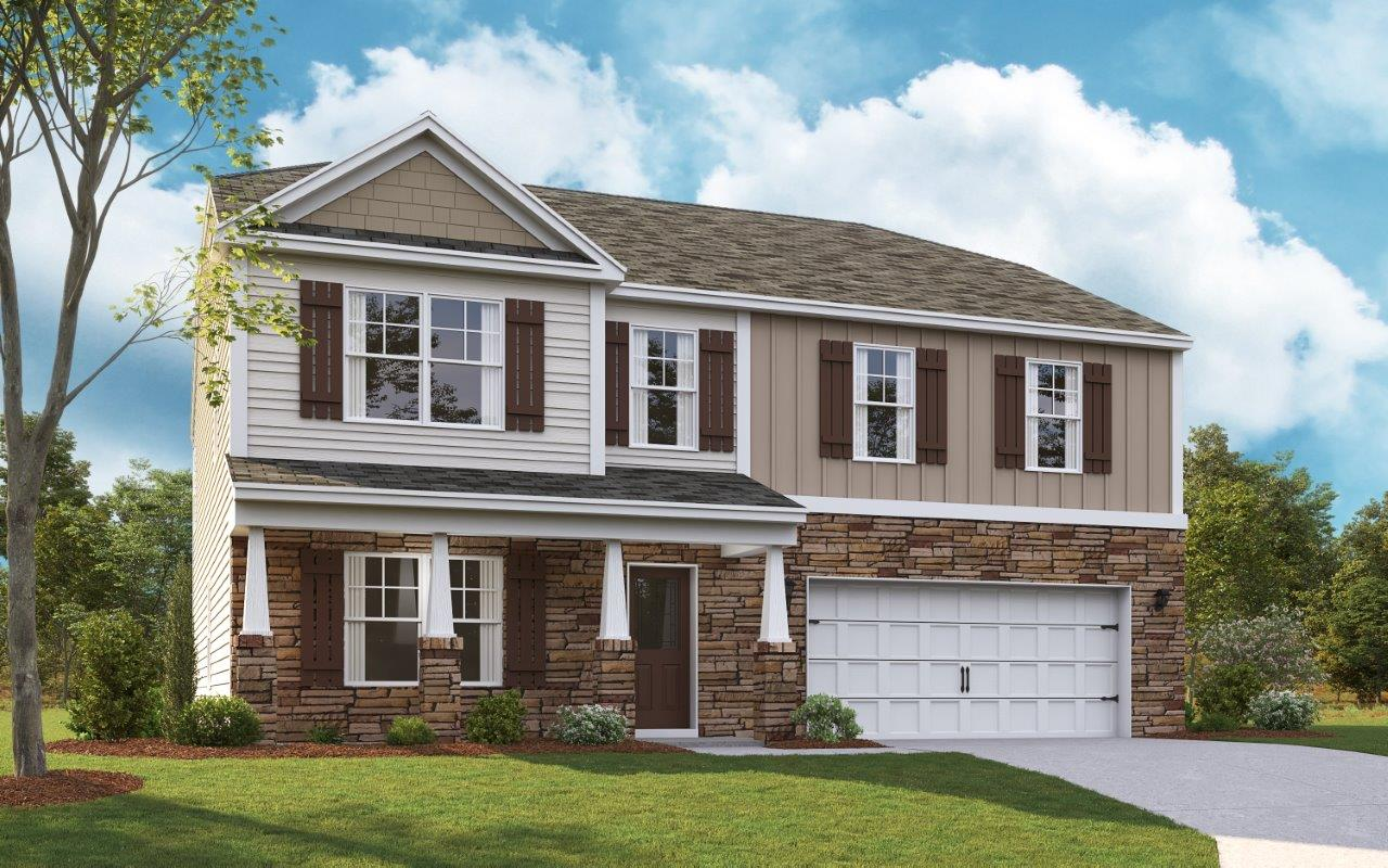 New Homes In Sevier Meadows Knoxville Tn D R Horton