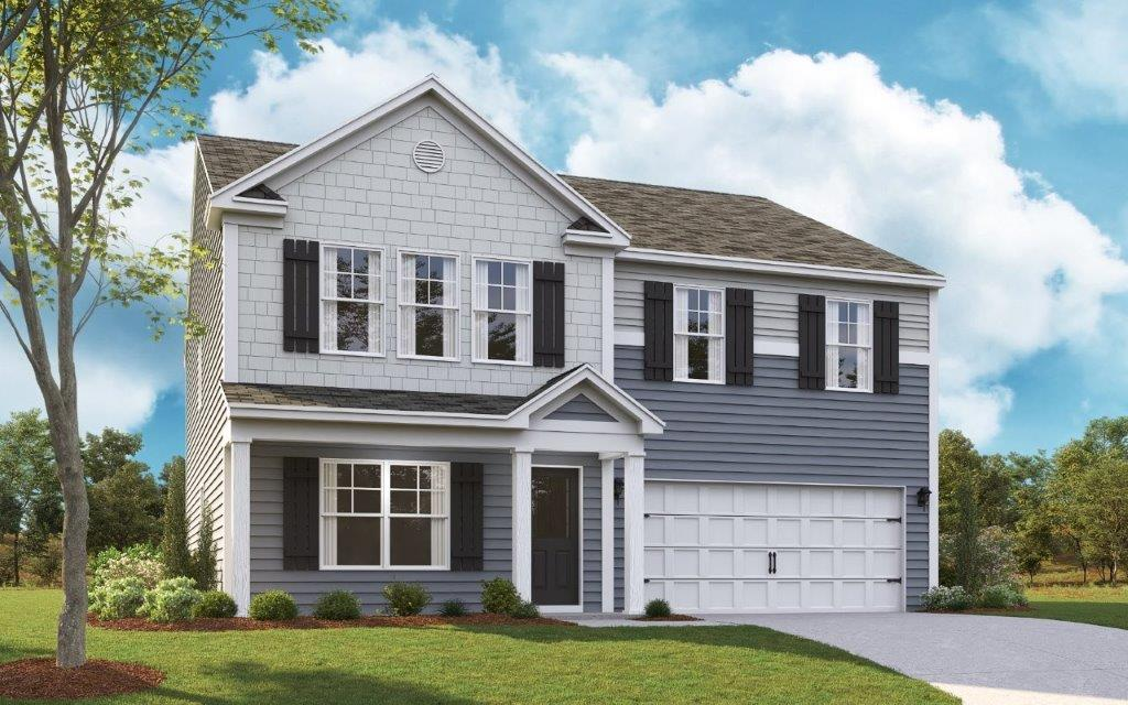 New Homes In Berry Patch Farms Knoxville Tn D R Horton