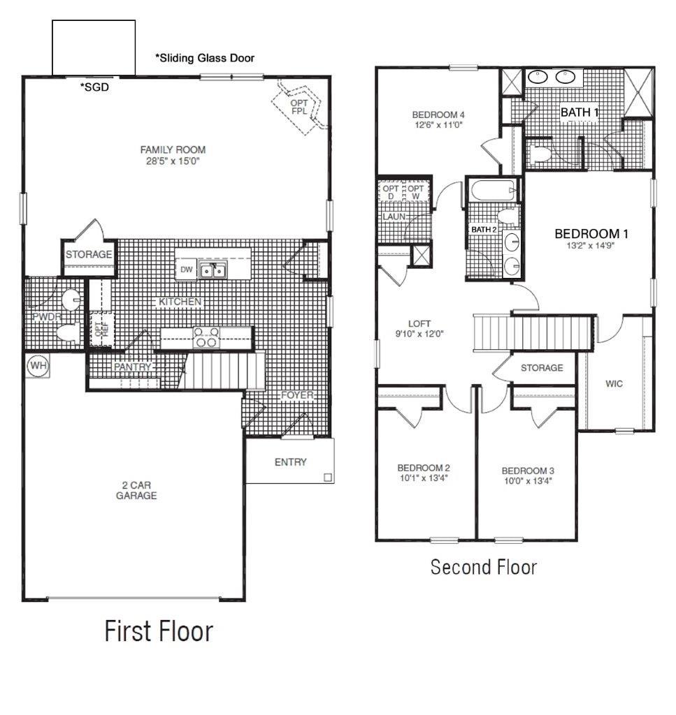 New Homes In Frank Price Landing Clinton Tn D R Horton