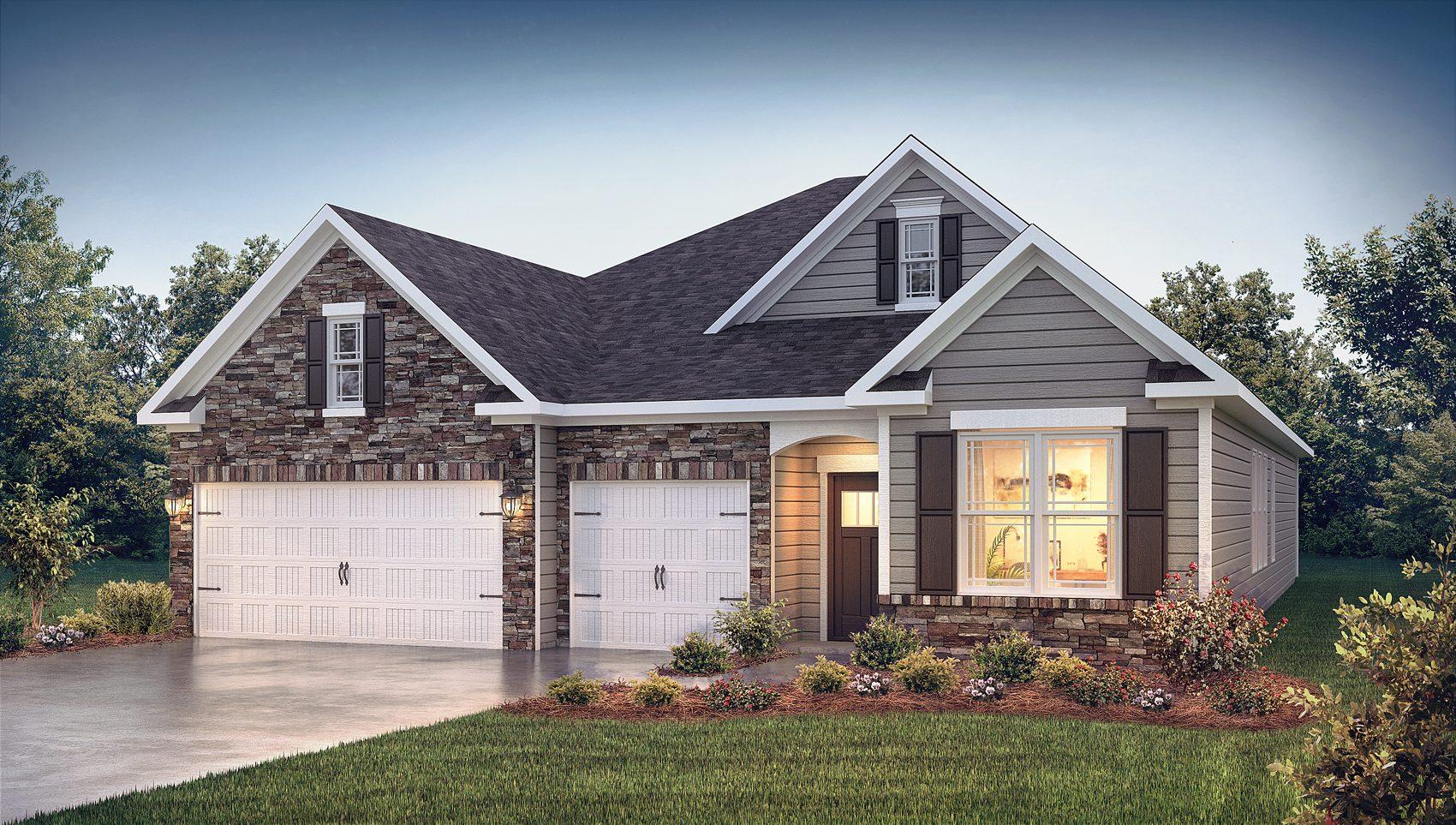 New Homes In Harrington Greenville Sc D R Horton