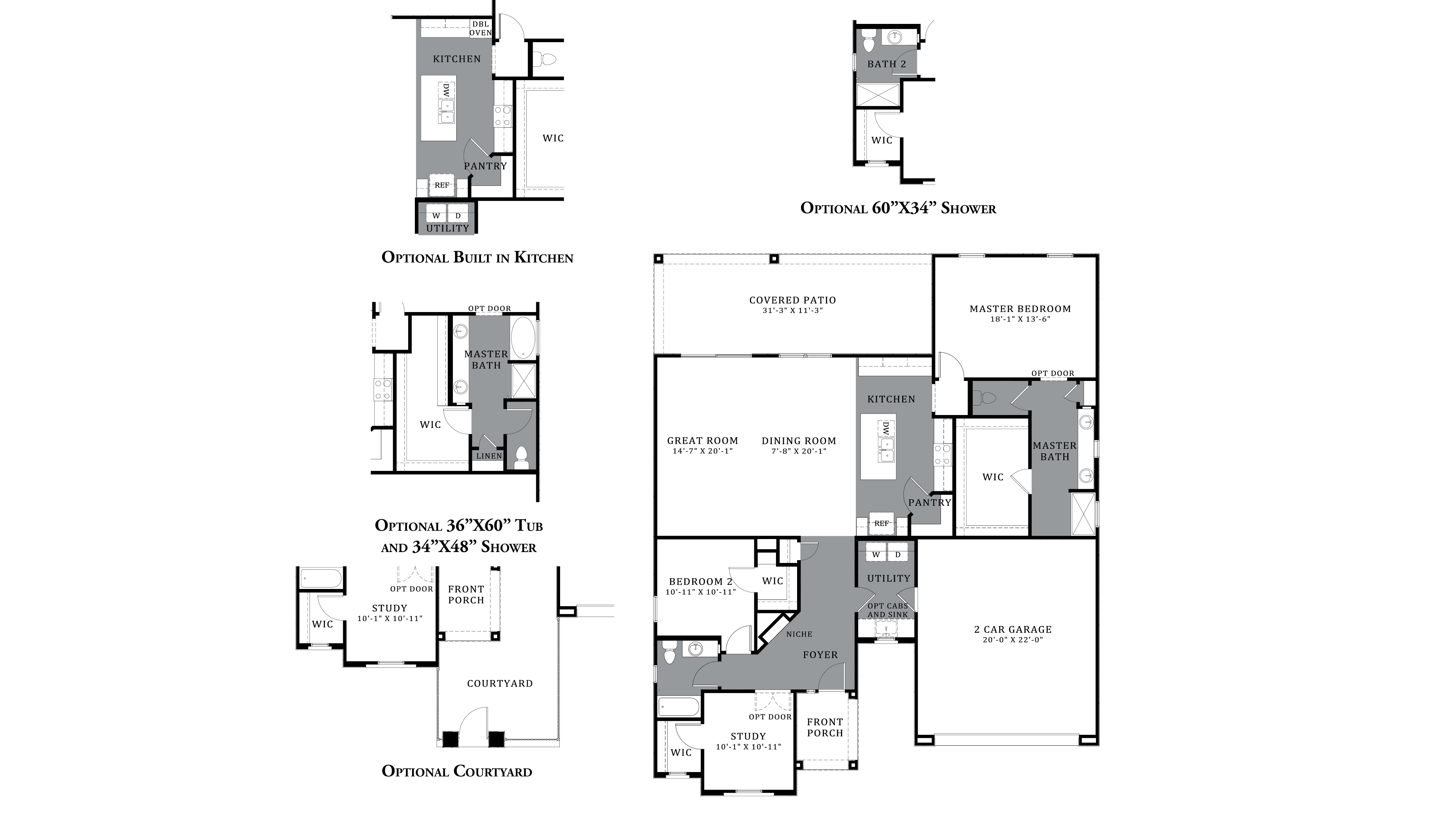 D.R. Horton Saguaro Bloom Freedom Lincoln -Plan 1888 Floor Plan